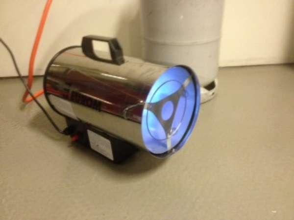 Hangende Halogeen Heater huren