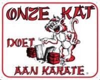 Onze kat doet aan karate