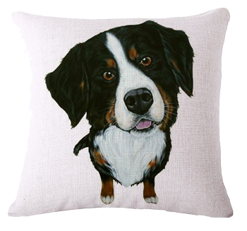 Kussenhoes Swiss Mountain Dog