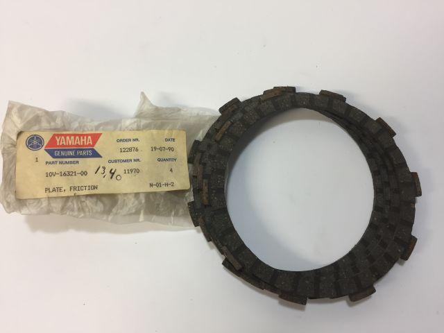Plate fritction - koppelingsplaat