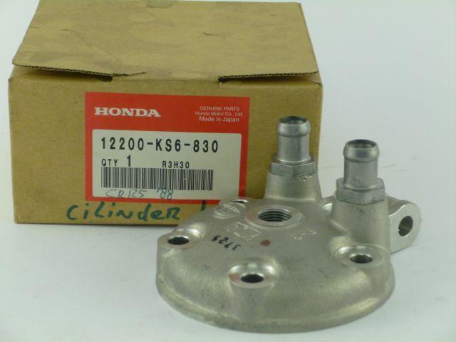 cylinder head - cilinder kop