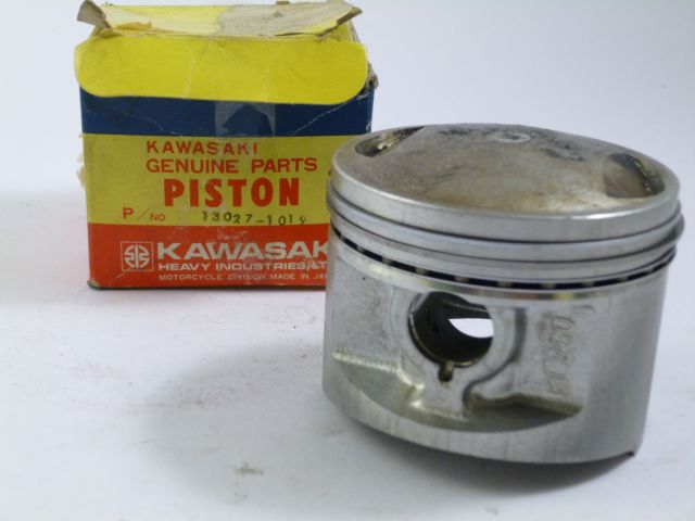 piston + rings - zuiger + veren 1.000