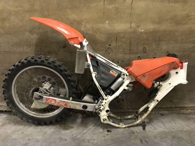 Incomplete mx-bike
