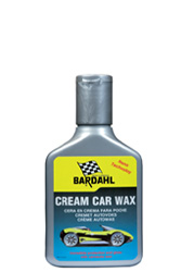 Cream car wax
