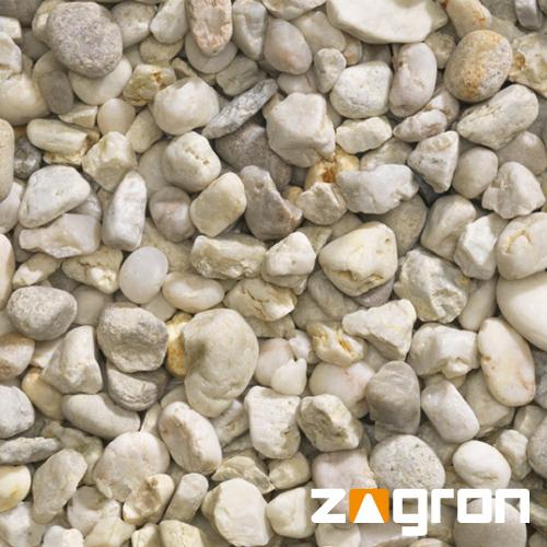 Witte grind 8 tot 16 mm