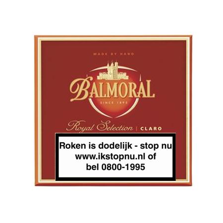 Balmoral  Royal Selection claro panatella