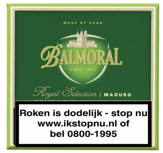 Balmoral  Royal Selection maduro panatella