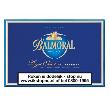 Balmoral Royal Selectio Reserva Robusto