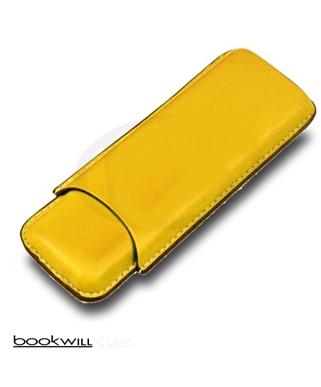 Bookwill sigaren koker  geel