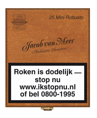 Jacob van Meer mini robusto