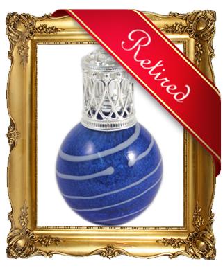 Geurlamp Spiral Blue 133