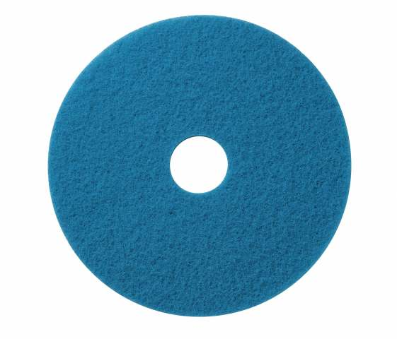 Scrub pad blue cleaner