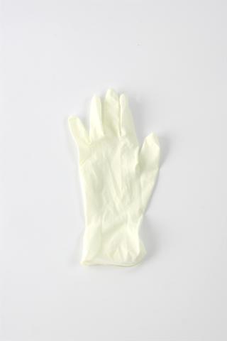 Latex wegwerphandschoenen