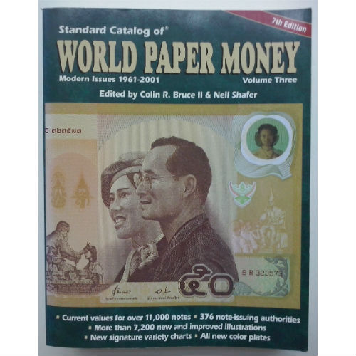 Krause World Paper Money Vol. 3  papiergeldcatalogus