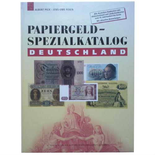 Pick Papiergeld-spezialkatalog Deutschland papiergeldcatalogus