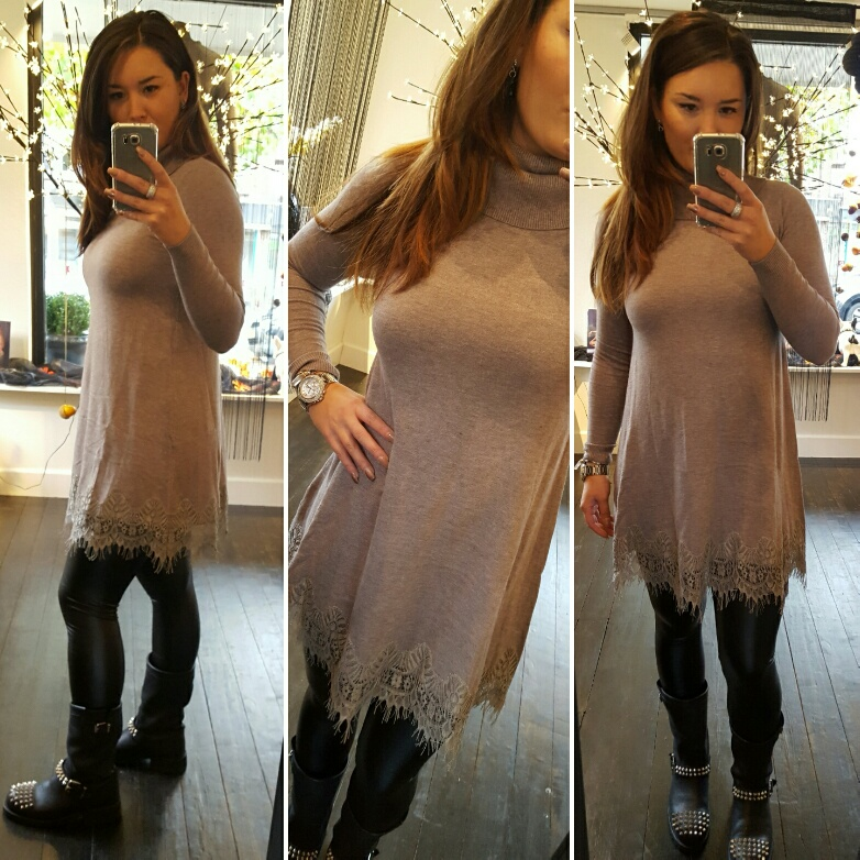 Sweaterdress Lace