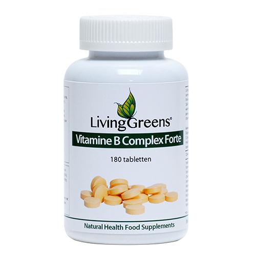 LivingGreens Vitamine B Complex Forte