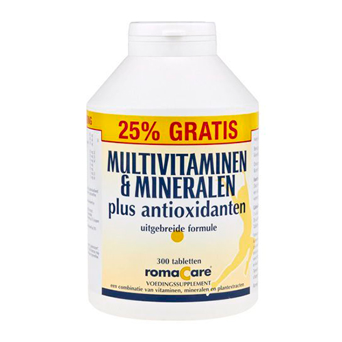 Romacare Multivitaminen mineralen (300)