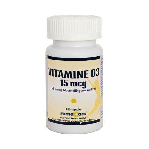 Romacare Vitamine D3 (100)