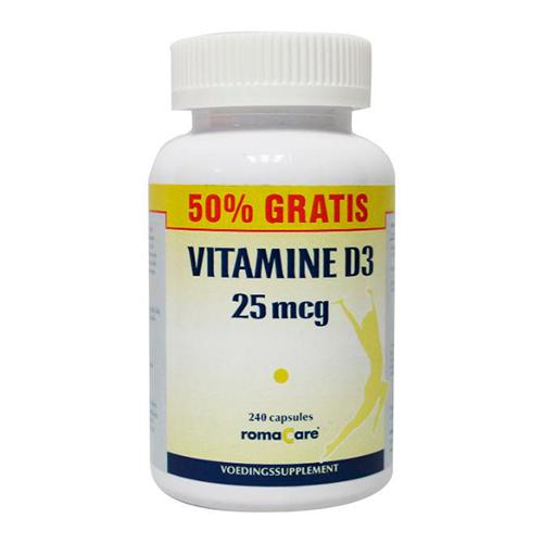 Romacare Vitamine D3 (240)