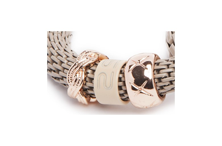 THE SNAKE STRASS BRACELET | A TOUCH OF TAUPE & CARRE