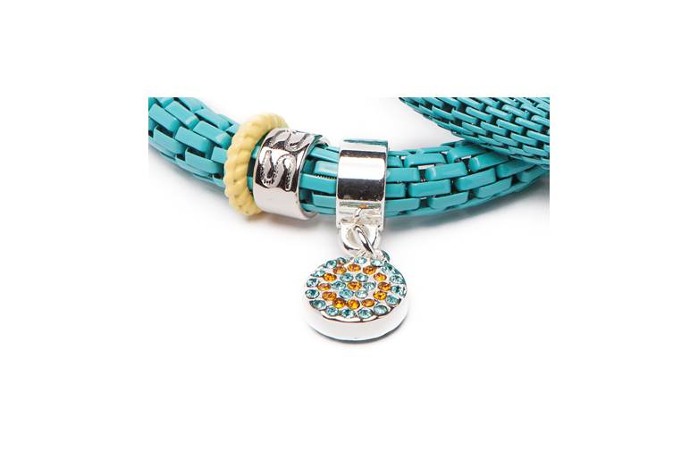 The Snake Strass | Turquoise Island & Strass Round