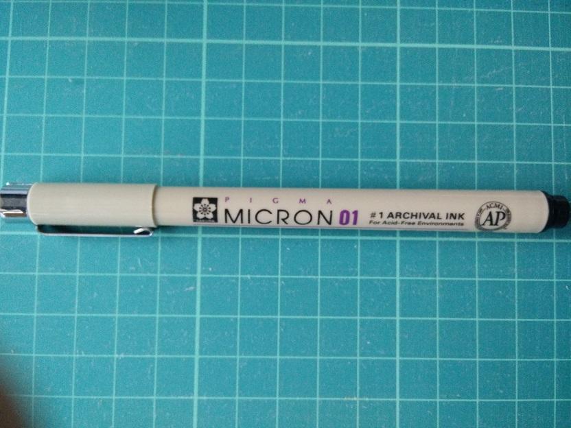 Pigma Micron Fineliner 01 Black