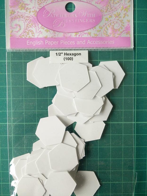 """Busyfingers 1/2"""" Hexagon"""