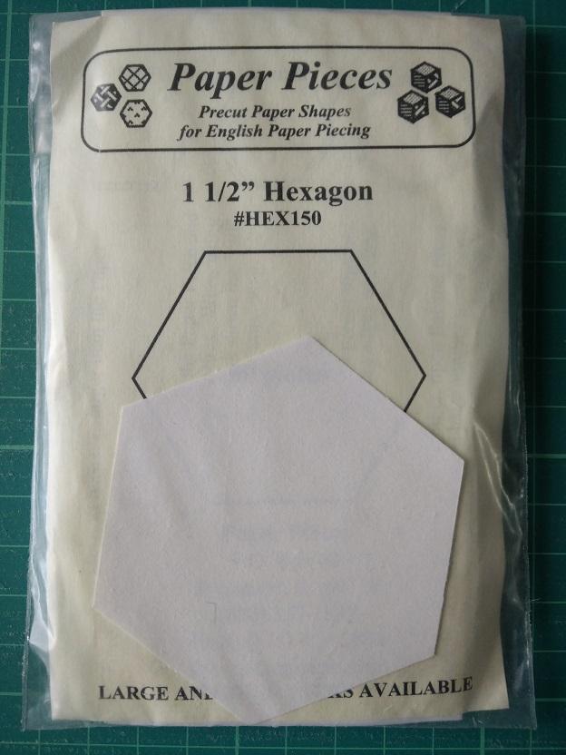 "Paper Pieces 1 1/2"" Hexagon"