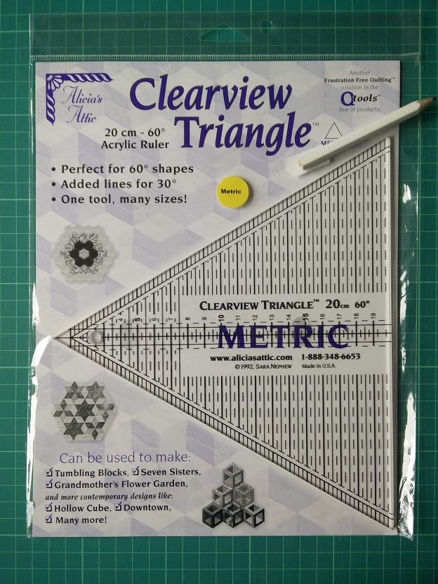 Clearview Triangle Metric Ruler