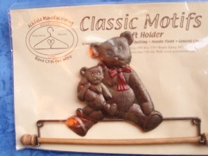 "Ackfeld 7.5"" Teddy Bear Tin Hanger"