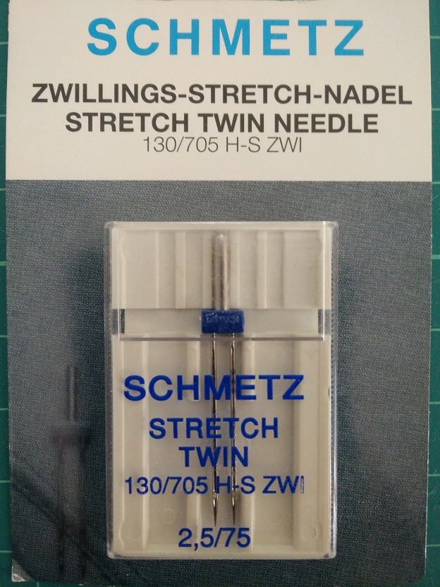 Schmetz Stretch Twin Needle 2.5/75