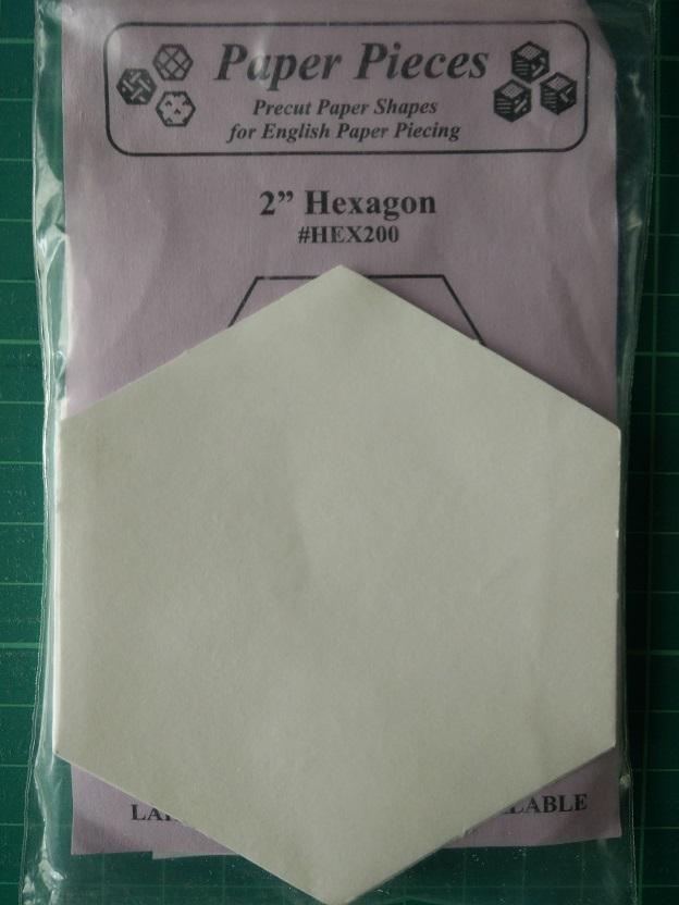 "Paper Pieces 2"" Hexagon"