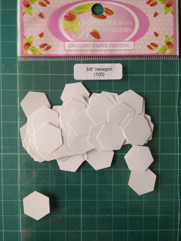"""Busyfingers 3/8"""" Hexagon"""