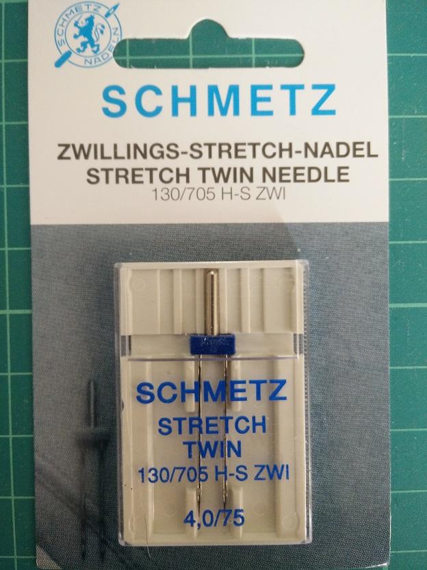 Schmetz Stretch Twin Needle 75