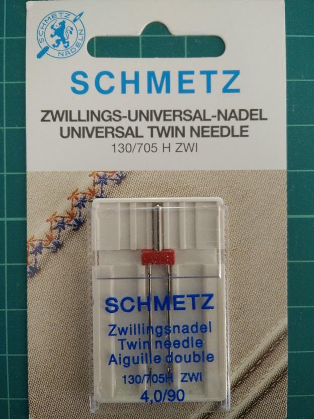 Schmetz Universal Twin Needle 90