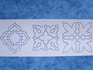 StenSource BC1615 Quilt Sjabloon