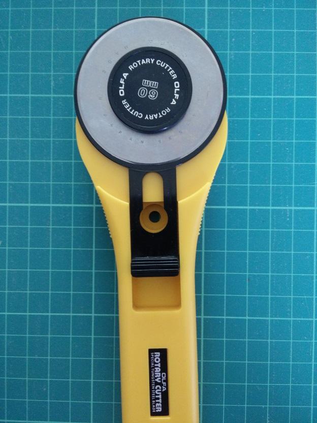 Olfa RTY-3G 60 mm Rolsnijmes
