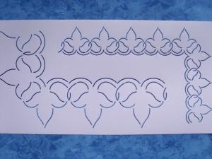 StenSource BC1020 Quilt Sjabloon