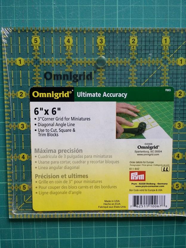 """Omnigrid  611 642 6 x 6"""" Grid"""
