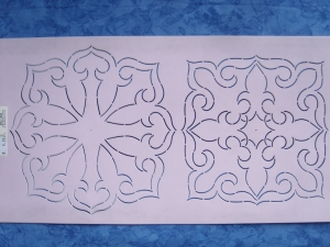 StenSource BC1825 Quilt Sjabloon