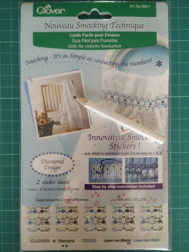 Clover 8601 Smocking Stickers
