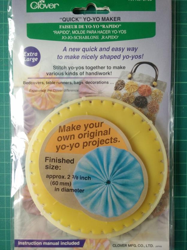 Clover 8703 Yo-Yo Maker Rond (XL)