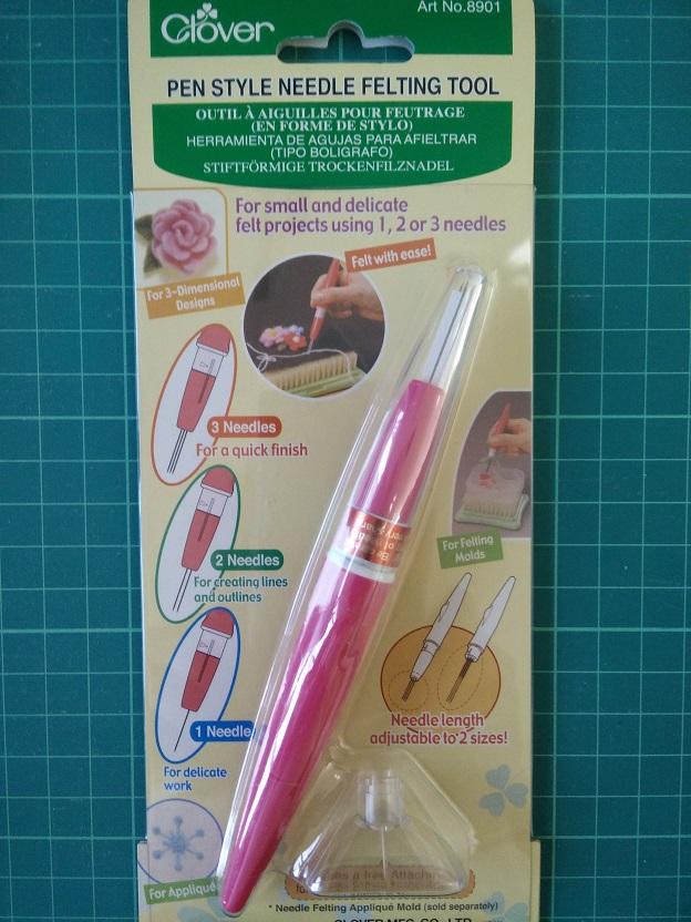 Clover 8901 Pen Style N. Felting Tool