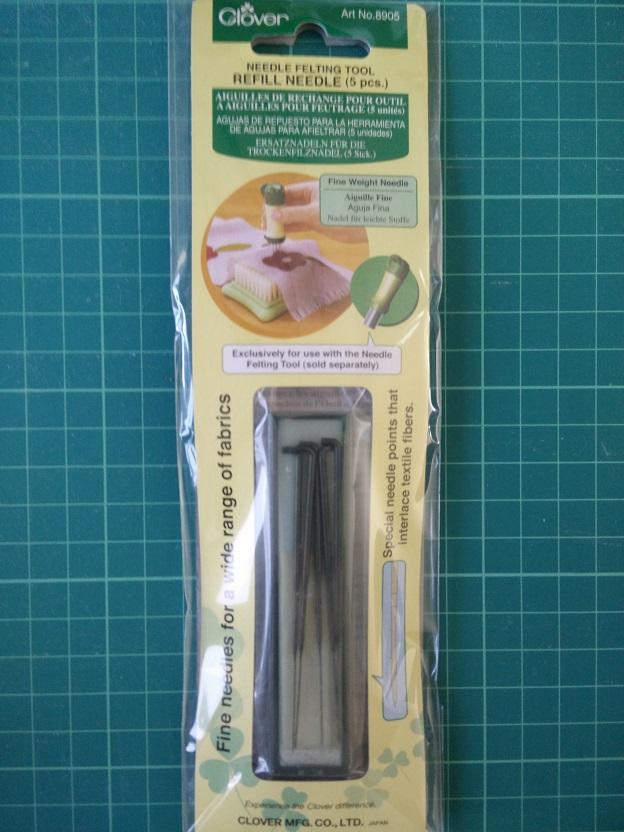 Clover 8905 Ref. Needle Felting Tool (dun)