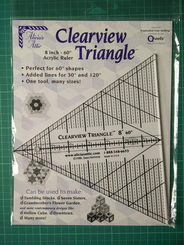 "Clearview 60 graden tot 8"" Ruler"