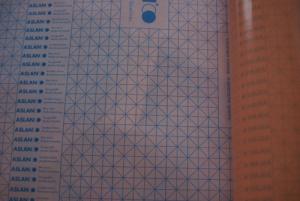 Aslan Folie 2-Zijdig Plakkend