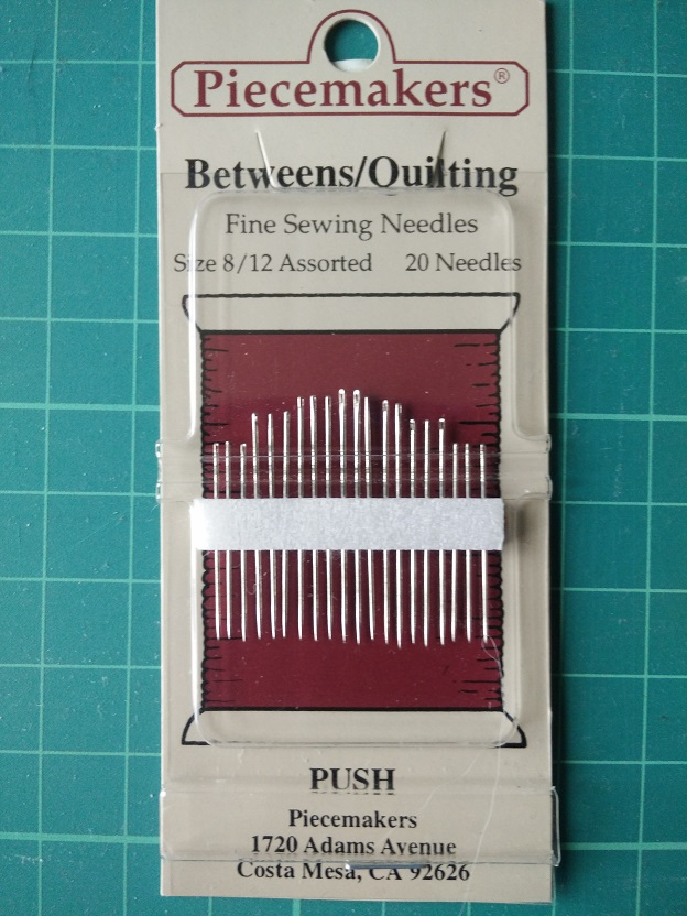 12B8/12 Betw./Quilting Needles