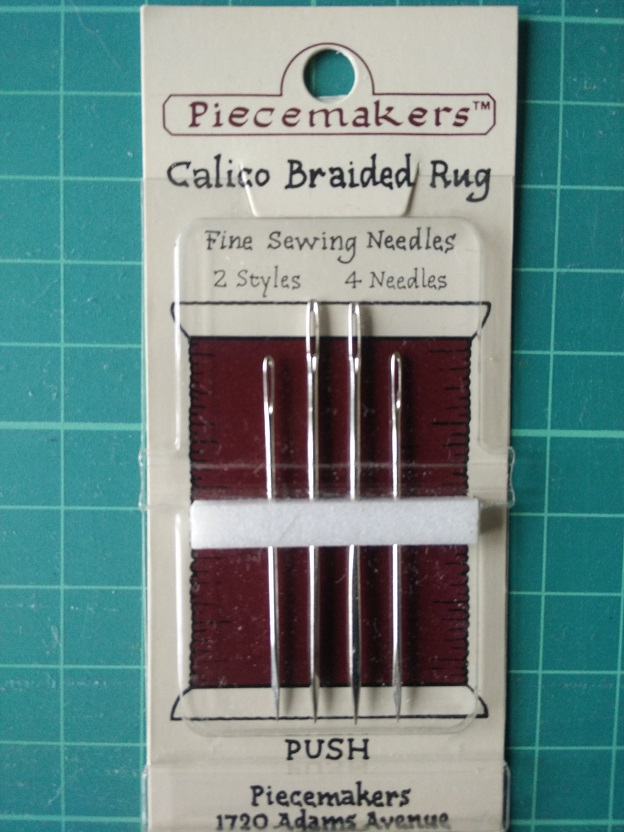 12CB Calico Braided Rug Needles