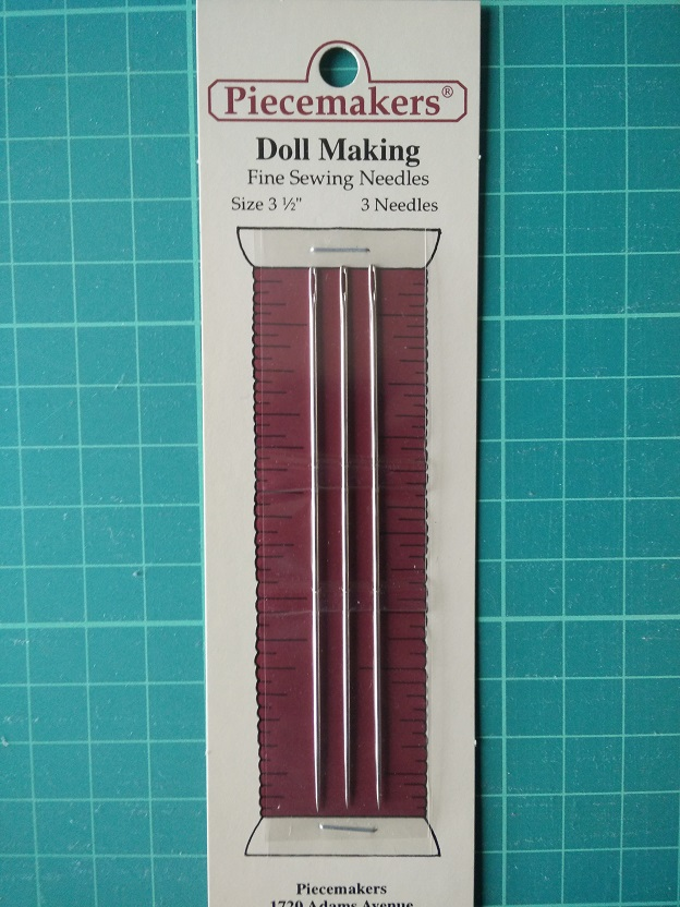 12-D3 Doll Making Needles 3 1/2""